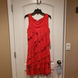 Calvin Klein Tiered Dress